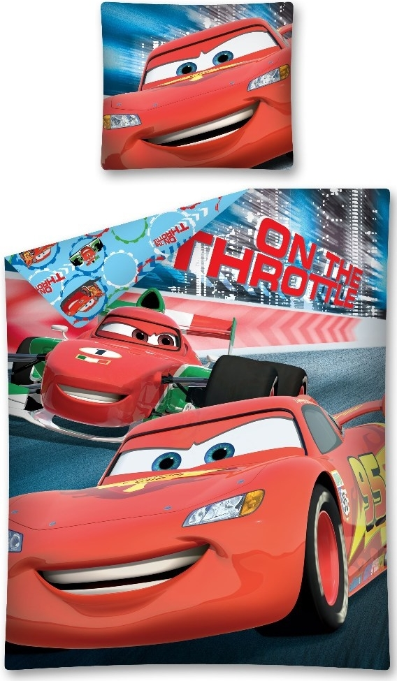 Dekbedovertrek Cars Throttle