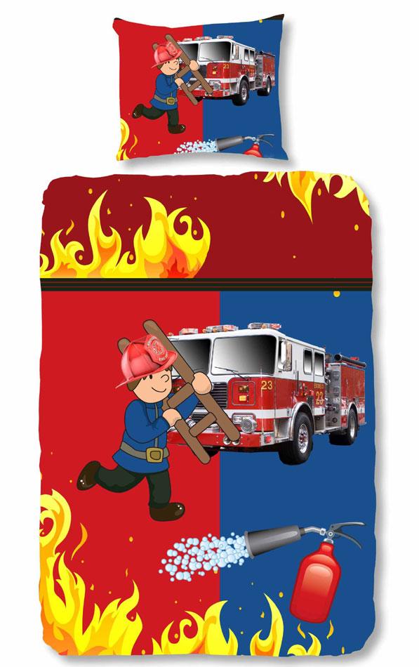 Brandweerman Dekbed Firefighter