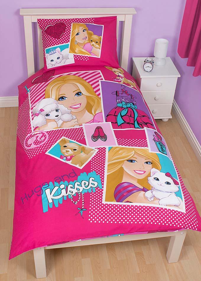 Barbie Dekbedovertrek Hugs and Kisses