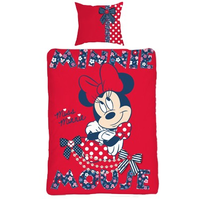 Dekbedovertrek Minnie Mouse
