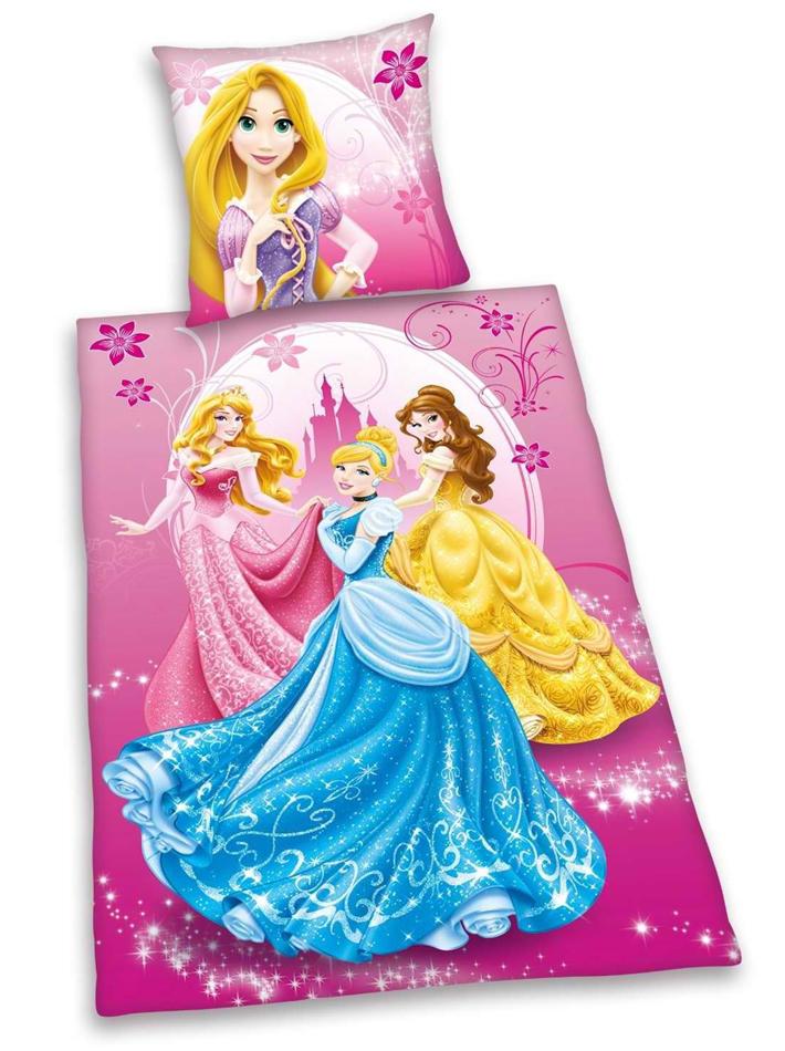 Flanellen Kinderdekbedovertrek Princes Disney