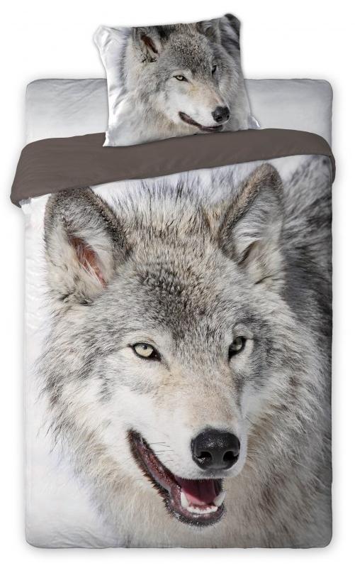 Dekbedovertrek Wolf