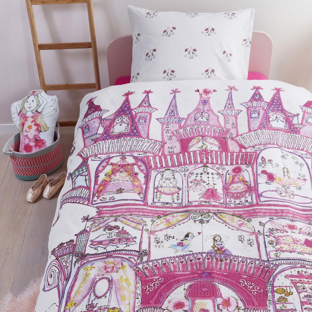 Beddinghouse-Kids-Dekbedovertrek Fairy Palace