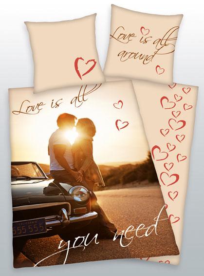 Dekbedovertrek Love Is All You Need