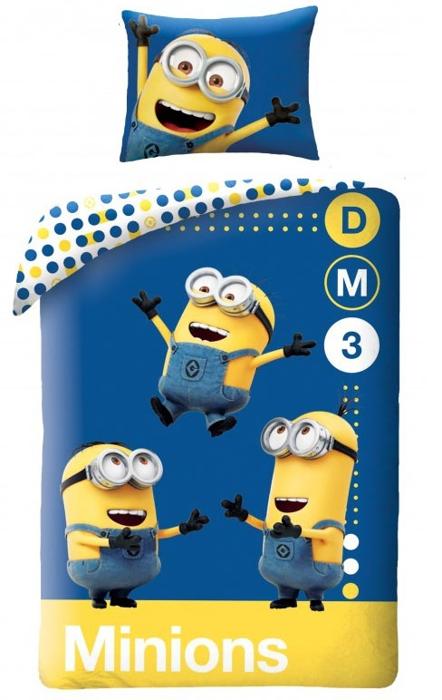 Dekbedovertrek Minions DM3
