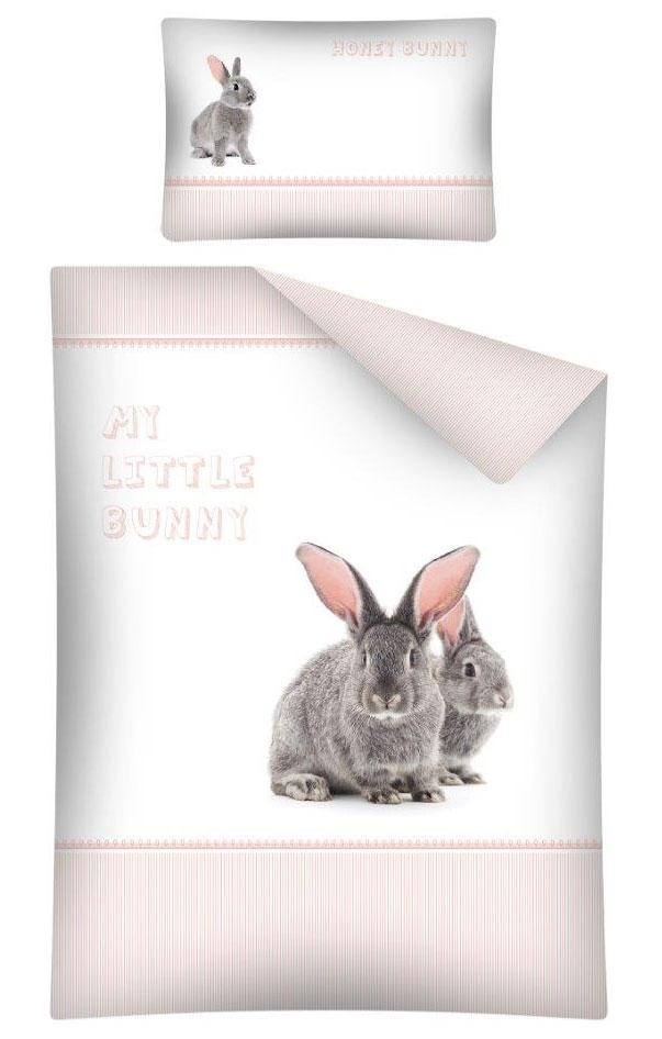 Dekbedhoes Sweet Bunny Pink