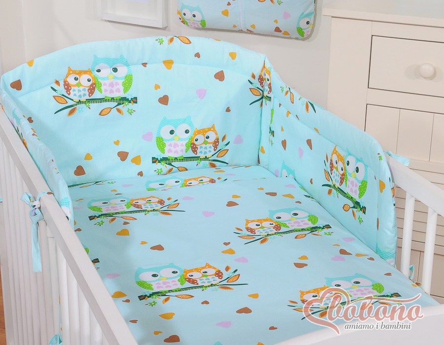 My Sweet Baby Dekbed Uiltje Blauw 100x135 cm