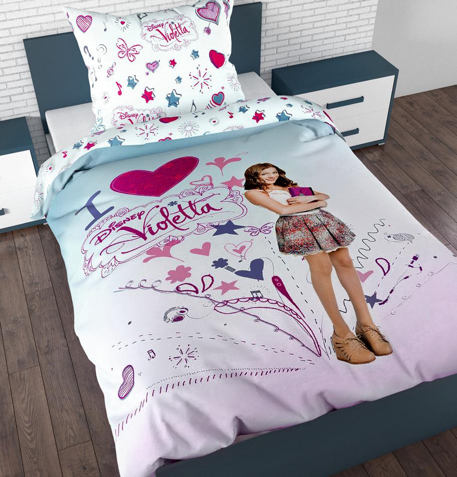 Dekbedovertrek Violetta I Love Disney Aanbieding Kopen