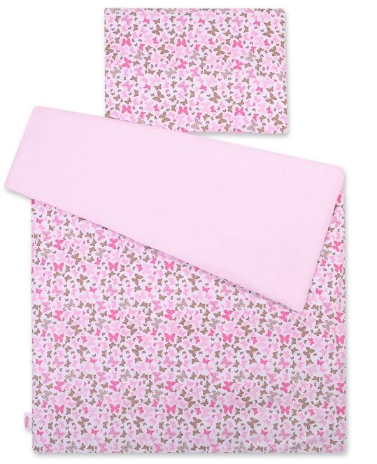 Dekbedovertrek Vlinders Roze