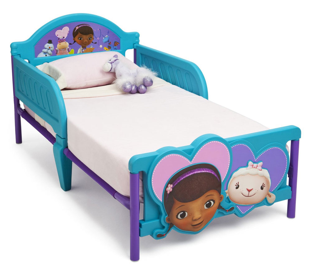 Doc McStuffins Junior Bed 3-D