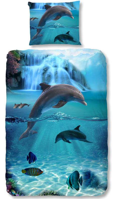 Goodmorning Dekbedovertrek Dolfijn