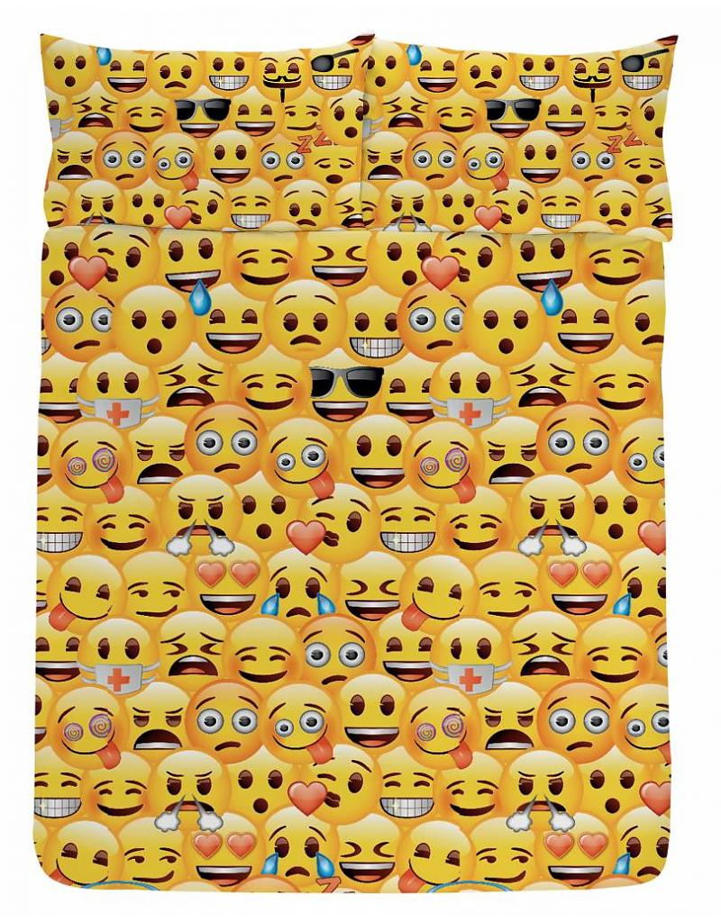 Smiley's Dekbedovertrek 200x200cm