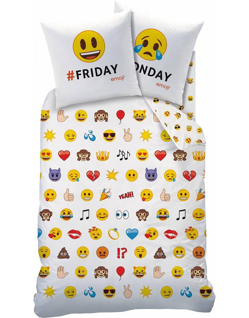 Emoji Dekbedovertrek Emotions