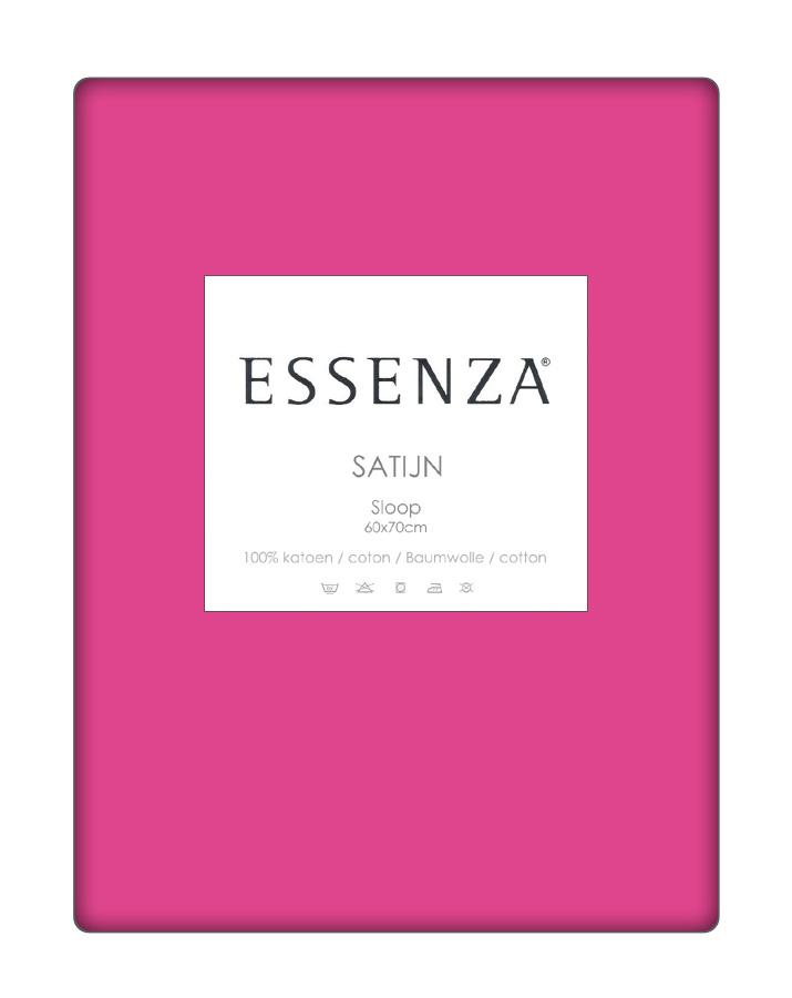 Essenza Kussensloop Satin Fuchsia (1 stuk)