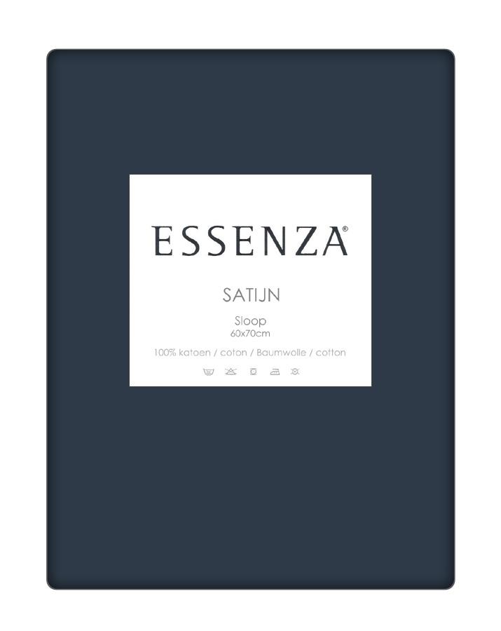 Essenza Kussensloop Satin Marine (1 stuk)