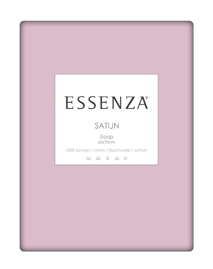 Essenza Kussensloop Satin Roze (1 stuk)