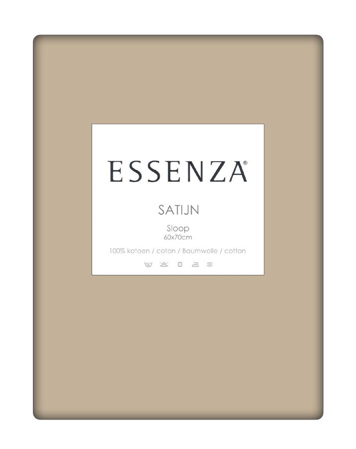 Essenza Kussensloop Satin Zand (1 stuk)