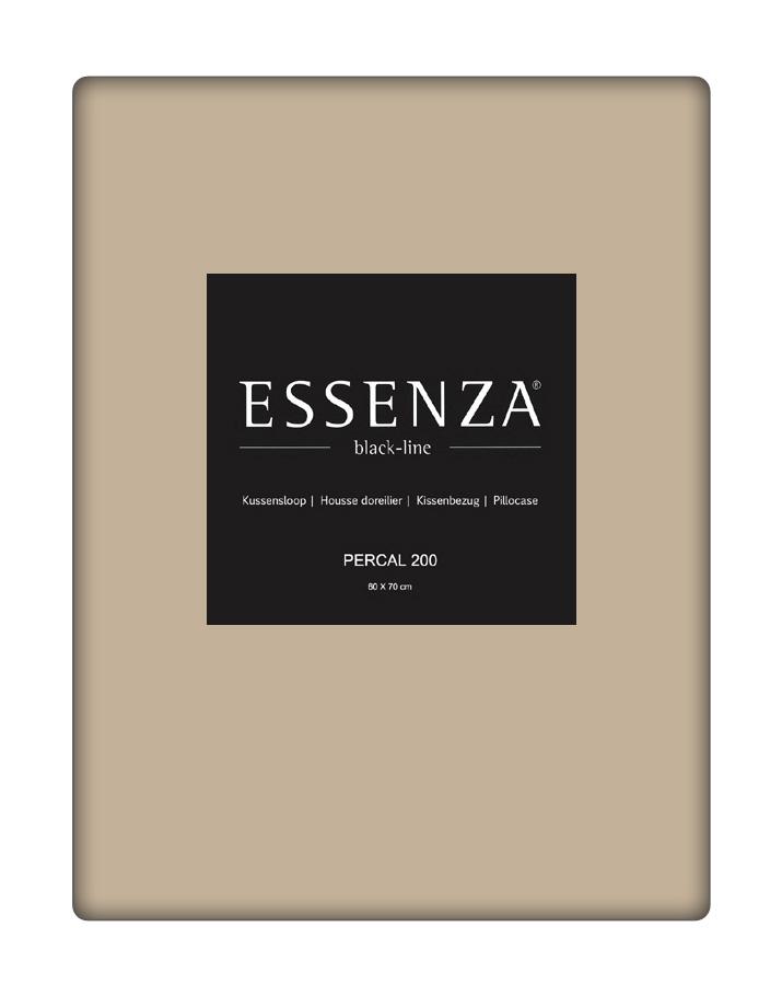 Essenza Kussensloop Percal Zand (1 stuk)