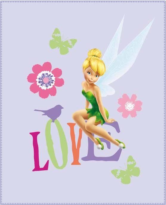 Fairies Disney Fleece Deken