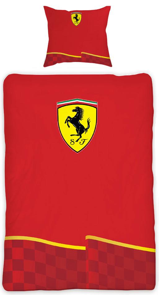 Kinderdekbedovertrek Ferrari Scuderia