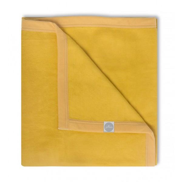 Jollein Deken 100x150cm yellow