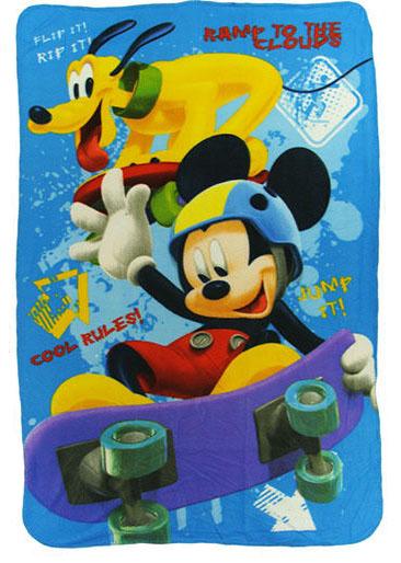 Mickey Mouse & Goofy Fleece Deken