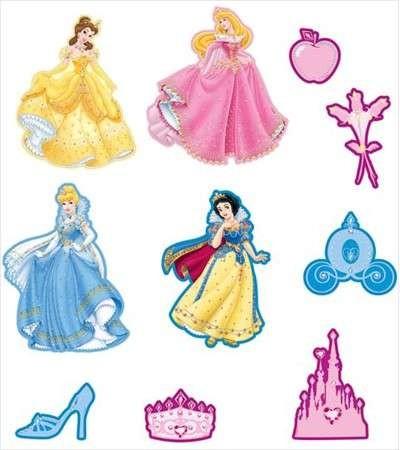 Decofun Princess Foam Elementen