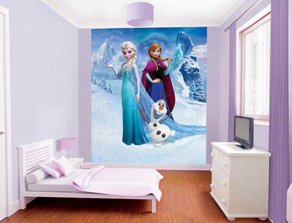 Frozen Slaapkamer Artikelen : Frozen Disney Bedroom