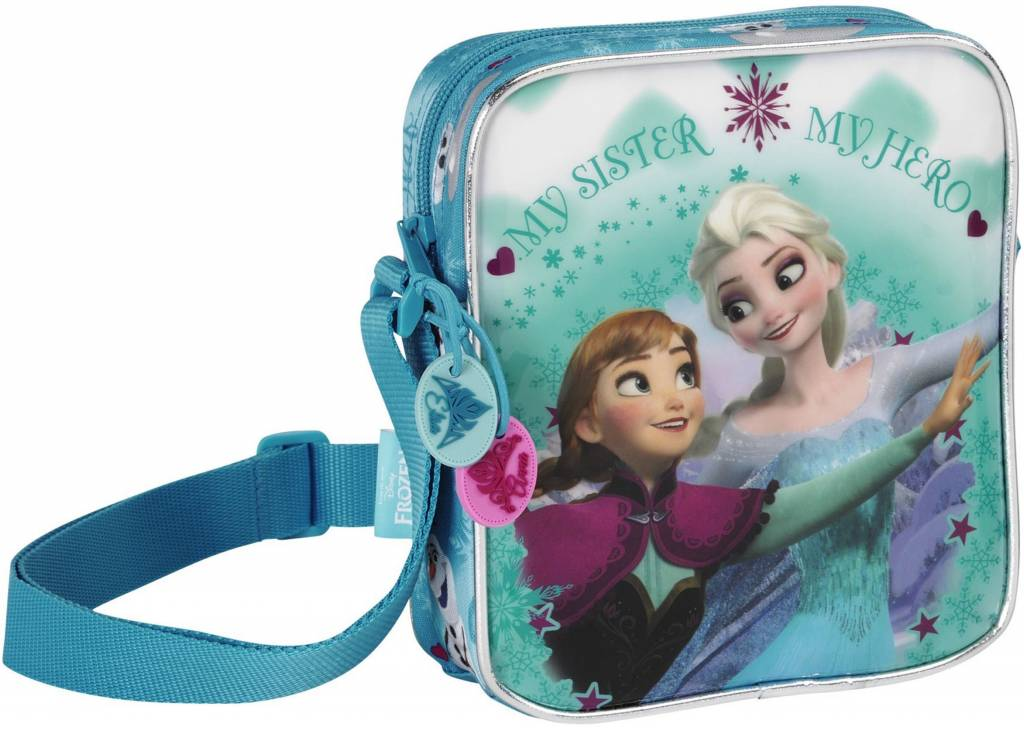 Schoudertasje Frozen : Frozen minni schoudertas sisters for ever disney