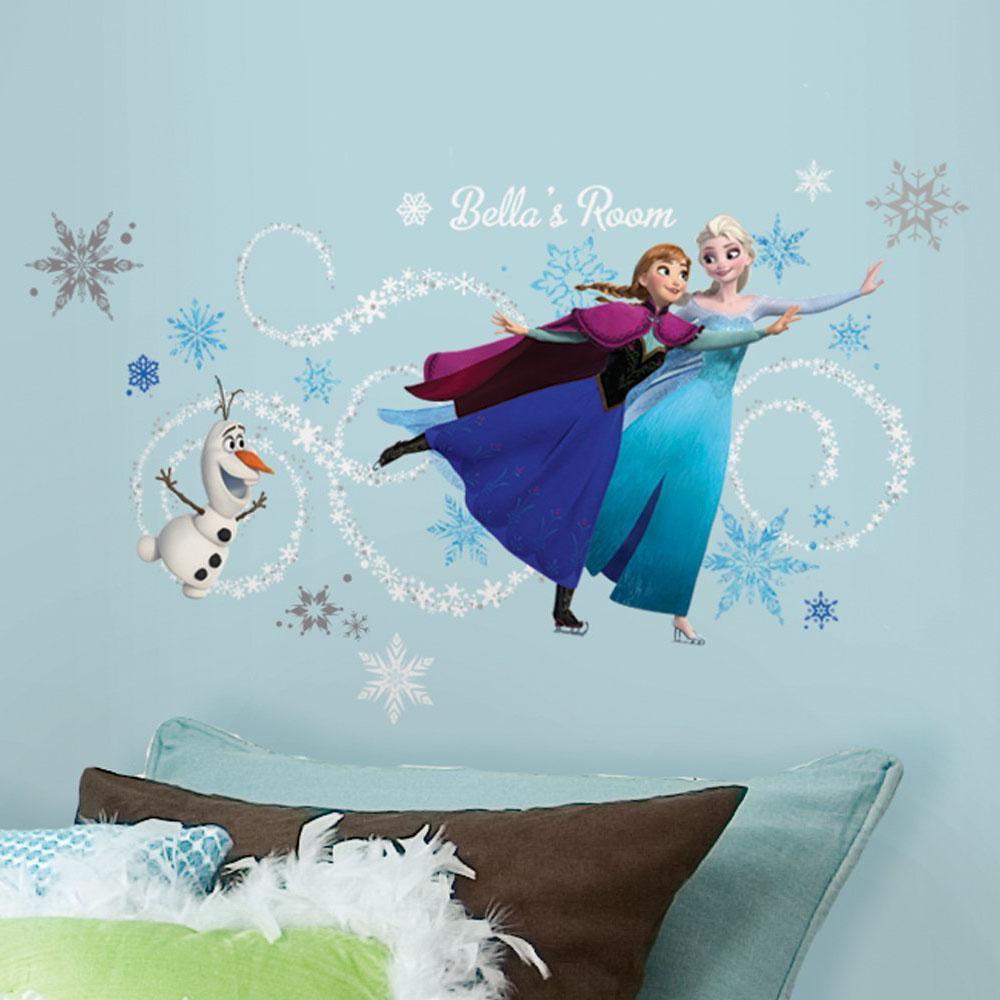Pin Disney Olaf Muursticker Disney Frozen on Pinterest