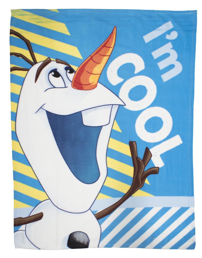 Olaf I,m Cool Fleece Deken 120x150cm
