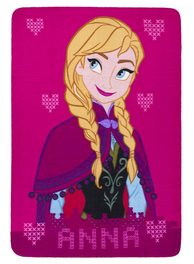 Frozen Fleece Plaid Anna