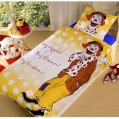 Dekbedovertrek Pippo de Clown