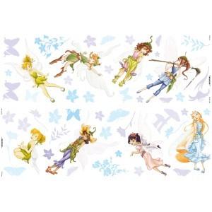 Muurstickers Disney Fairies