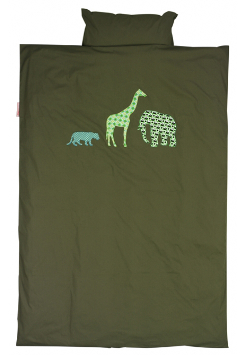 Taftan Dekbedovertrek Safari
