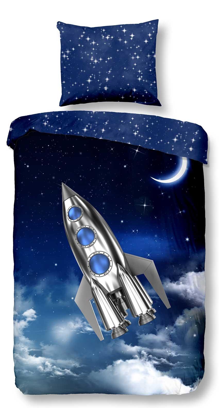 Good Morning Kids Dekbedovertrek Rocket