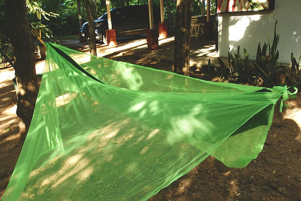 Hangmat Klamboe Geïmpregneerd groen