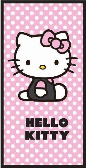 Badlaken Hello Kitty Polka Dots