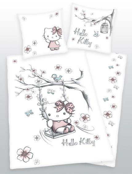 Dekbedovertrek Hello Kitty Schommel