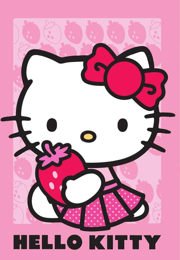 Hello Kitty Vloerkleed Strawberry