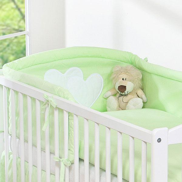My Sweet Baby Hoofdbeschermer 'Two Hearts' Groen