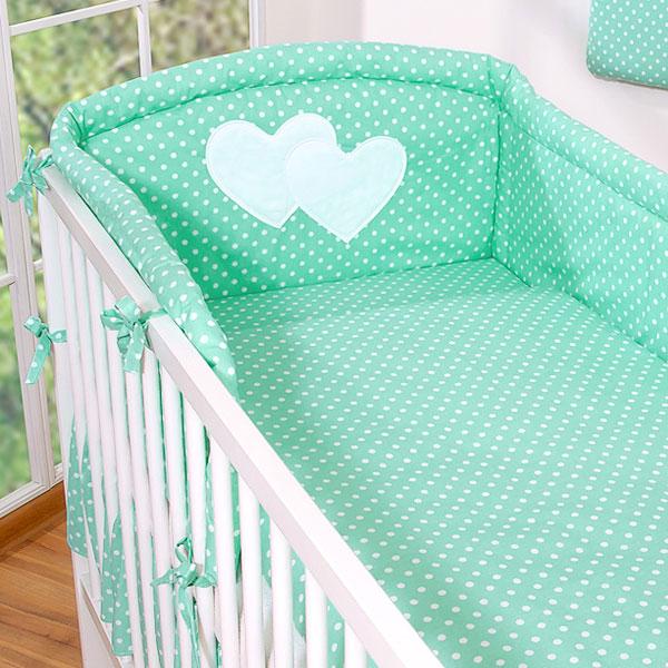 My Sweet Baby Dekbedovertrek Mint/Dots