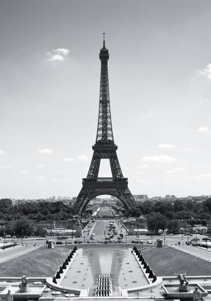 Met dit fotobehang vande eiffeltoren in parijs breng je extra sfeerin het interieur, en wordt doormiddel ...