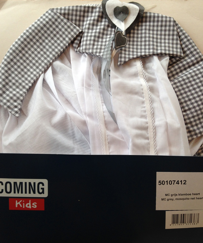 Coming Kids Klamboe Mixed Colour Grijs