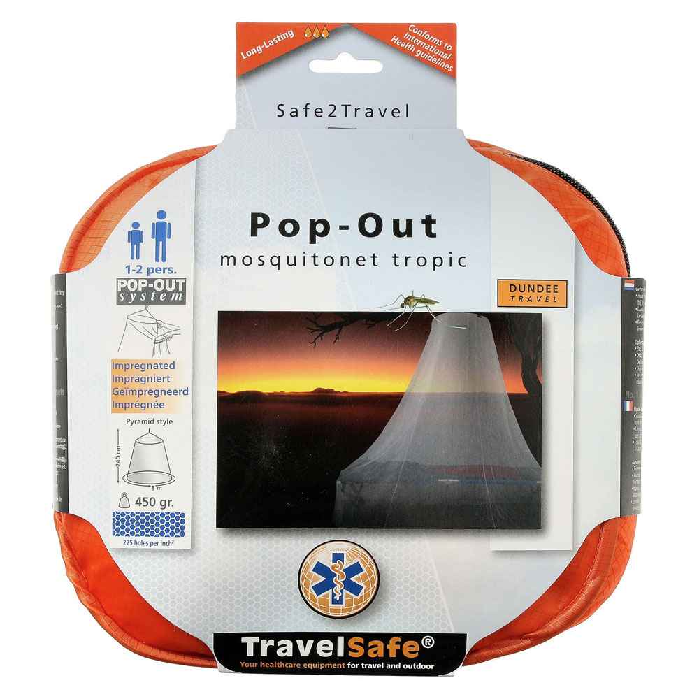 Travelsafe Pop-Out Klamboe 1 - 2 pers
