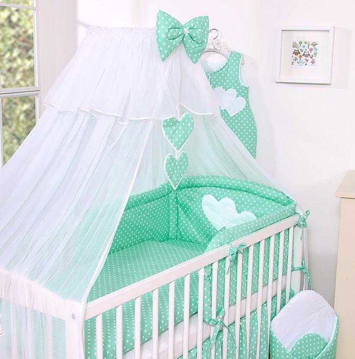 My Sweet Baby Sluier Chic Voile Dots/Mint