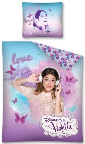 Dekbedovertrek Violetta Vlinder Koptelefoon Disney Aanbieding Kopen