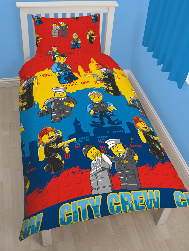 LEGO Dekbedovertrek City Crew