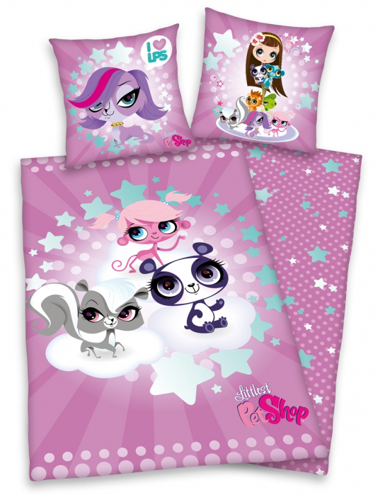 Littlest Pet Shop Dekbedovertrek