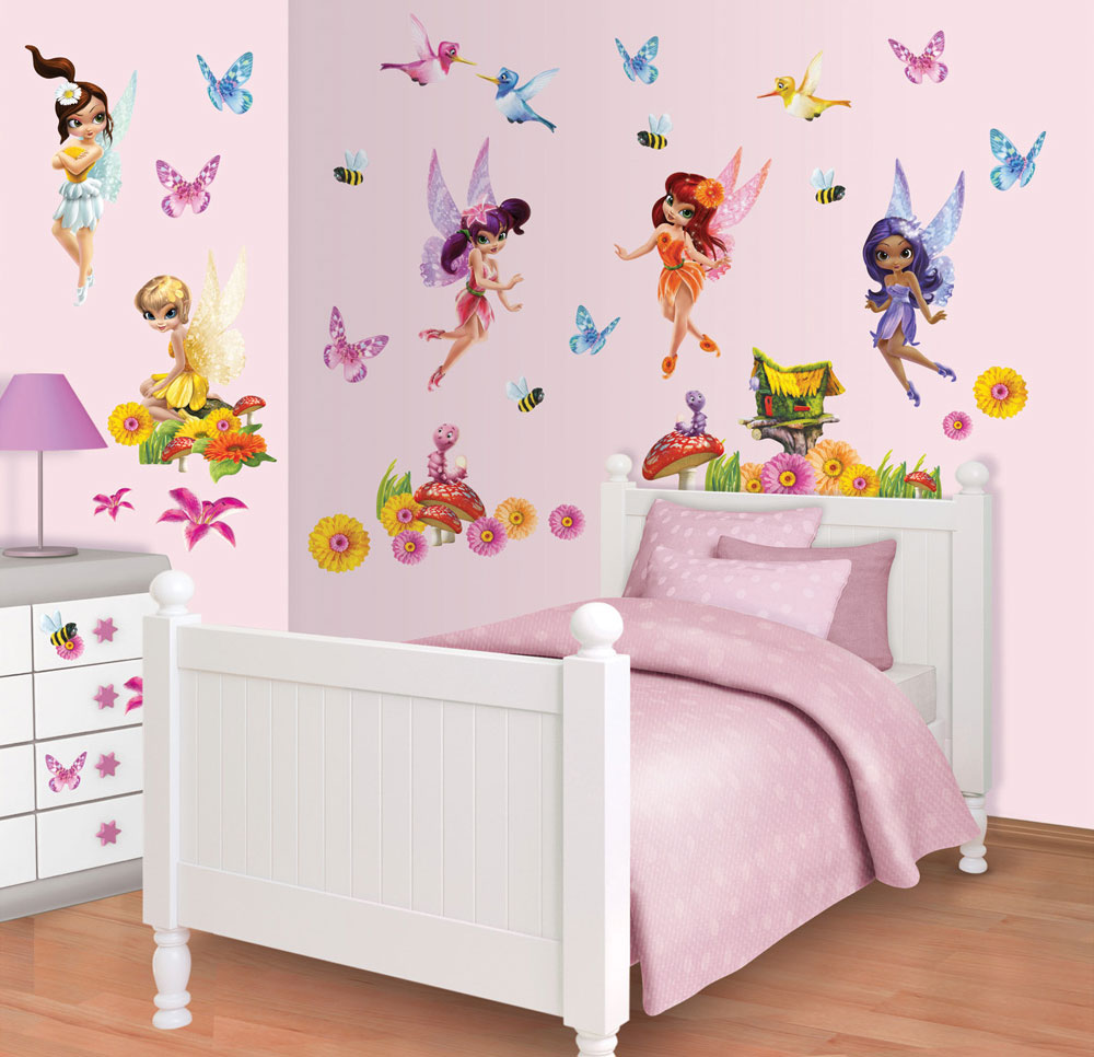 Magical Fairies Muurstickers (Walltastic)
